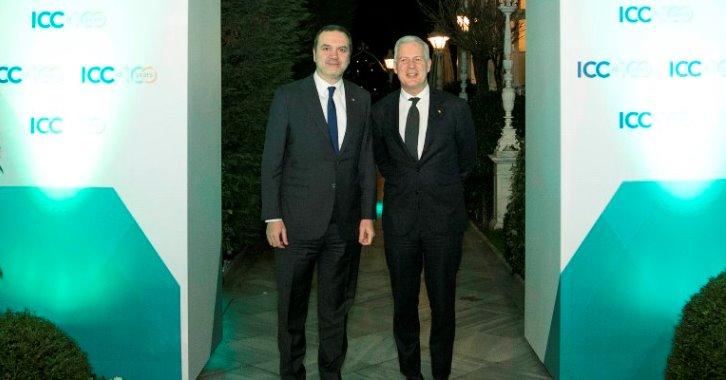 ICC'nin 100. Yılı vesilesiyle ICC Türkiye ve TOBB işbirliğinde ICC Genel Sekreteri John Denton'ın katılımıyla İstanbulda Sait Halim Paşa Yalısında bir akşam yemeği düzenlendi.