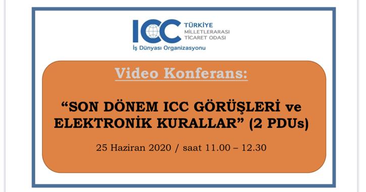 Eğitmenler Sn. Abdurrahman Özalp, ICC Türkiye Bankacılık Komisyonu Başkanı Sn. Özlem Deren, ICC Türkiye Bankacılık Komisyonu Üyesi